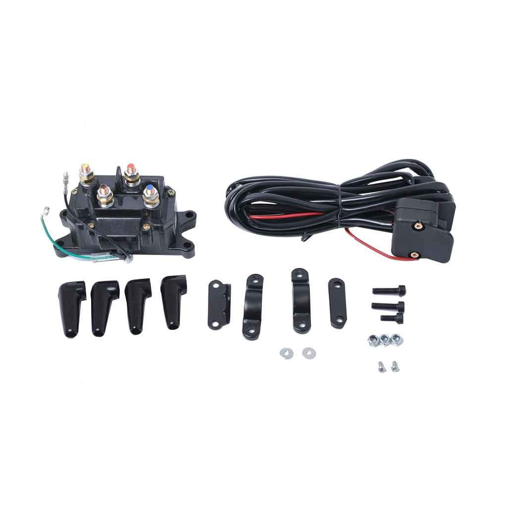 Handlebar Control Switch Motorbikes Black Keenso 7//8 Motorcycle Handlebar Mount Switches with Horn Turn Signal High Low Beam Control With Wire Scooters for Motorcycles Electric Bike ATVs 22mm