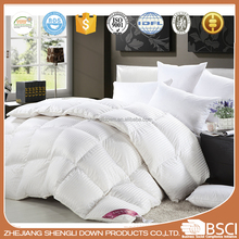 Hotel Use 100% Cotton Duck down duvet/ comforter