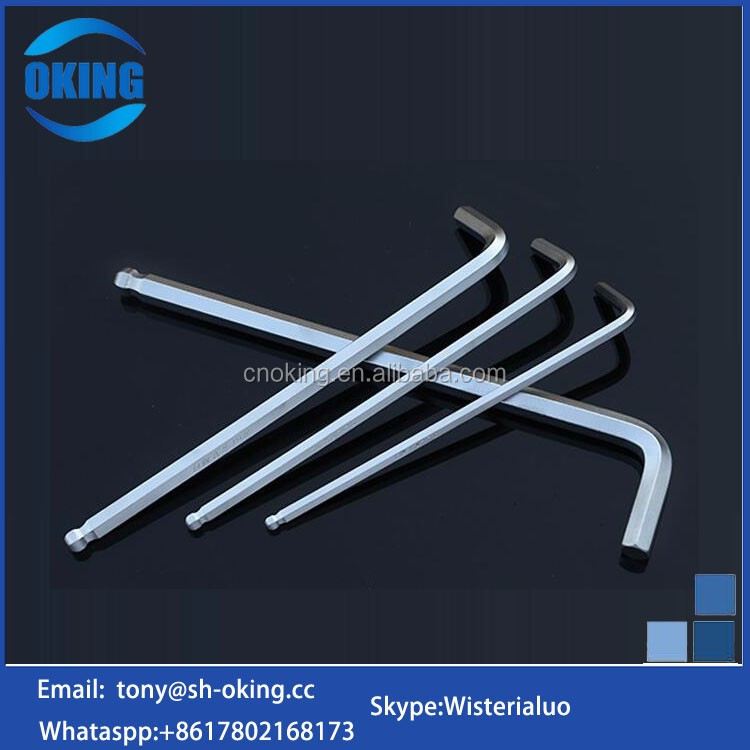 Customized extra long allen ring hex keys wrench