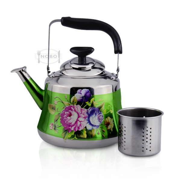 Colorful kettle best stainless steel whistling water kettle