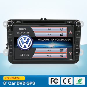 Original UI 8 inch Touch Screen Car DVD Player with navigation BT radio android system for VW series
