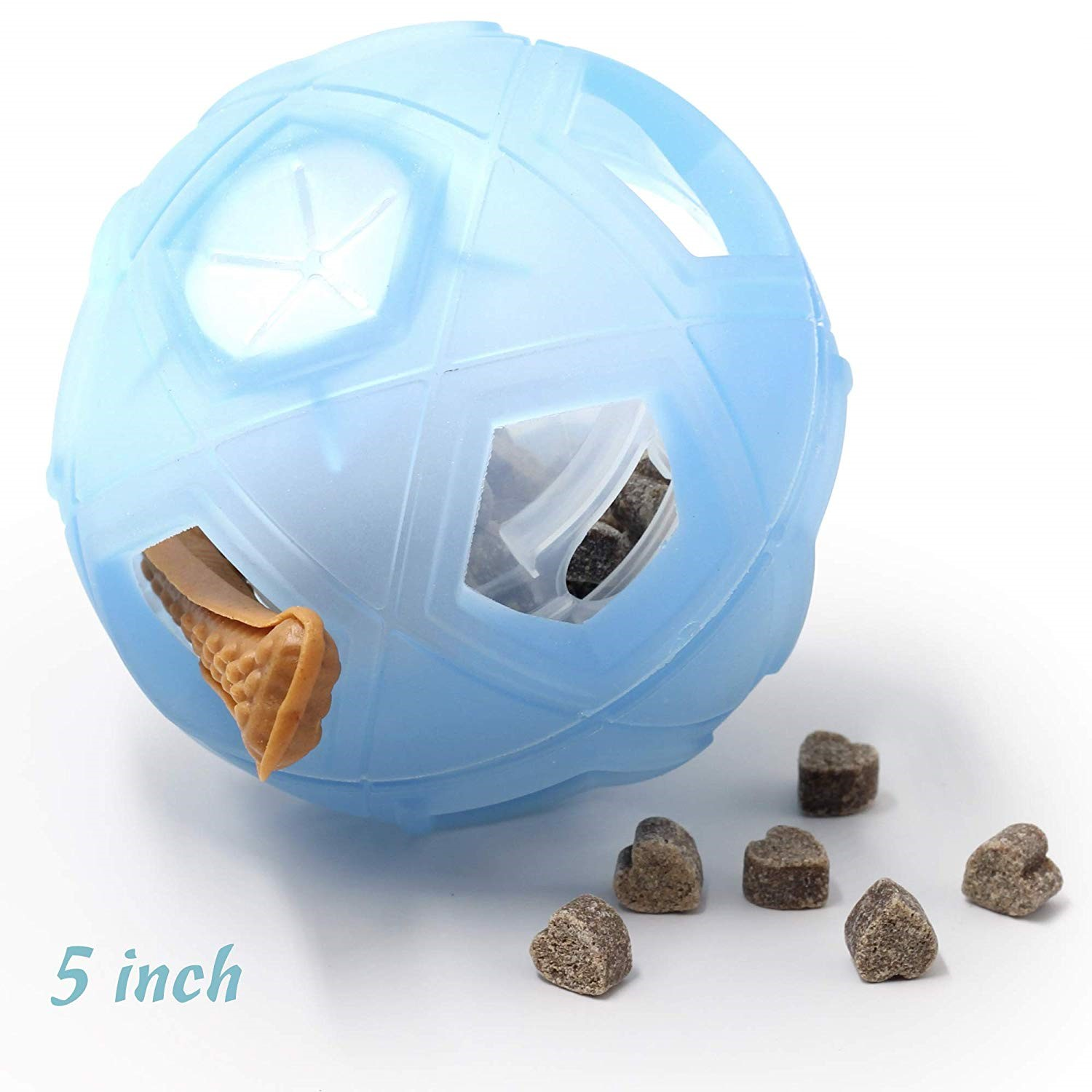 Dog Chew Toys Dog Food Ball Dog Treat Ball For Small Medium Dogs