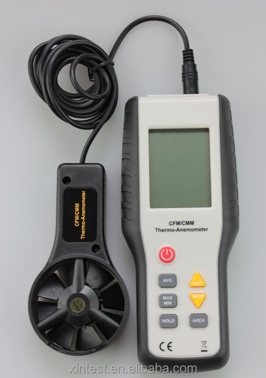 China HT-9819 (HT-9819) CFM/CMM Measuring instrument Anemometer records,  View Air Flow, XINTEST Product Details from Dongguan Xintai Instrument Co ,