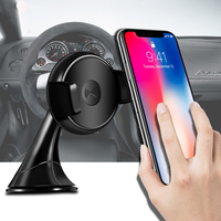 Factory Supply Phone Accessories Multi-function Qi Portable Universal Magnetic Wireless Fast Charger for Car