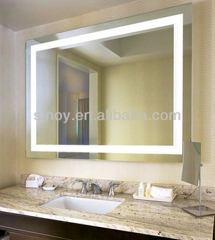 Hot ! Sandblasted Bath Mirror,Light Mirror Design