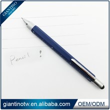 Unique 0.9mm Mechanical Pencil With Touch Pen Ruler