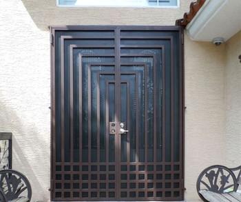 House Front Door Design Steel Security Iron