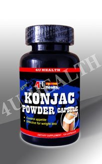 Konjac Powder Capsule 500mg