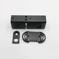 Customizable Aluminum CNC Machining parts / OEM Black Anodized Precision Milling Services