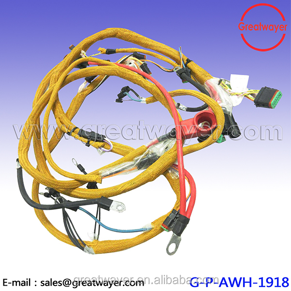 Catepillar Cat Excavator Engine Wire Harness D513963 cat engine wiring harness, cat engine wiring harness suppliers and cat conversion wire harness at bakdesigns.co