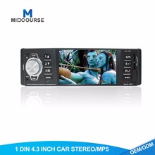 MC 4.3 polegada carro com FM carro USB SD BT mp3 mp4 mp5 player 7388 ÁUDIO DO CARRO IC