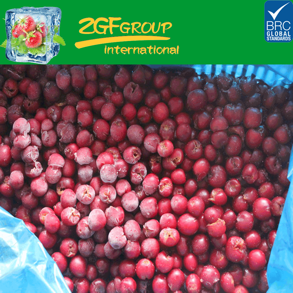 New Crop IQF Frozen Sour Cherry, Grade A