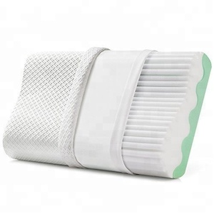 Superior Quality Orthopedic Contoured Cooling Ventilated Gel Memory Foam Pillow