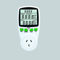 Energy Power Meter Socket with Electricity Usage Monitors