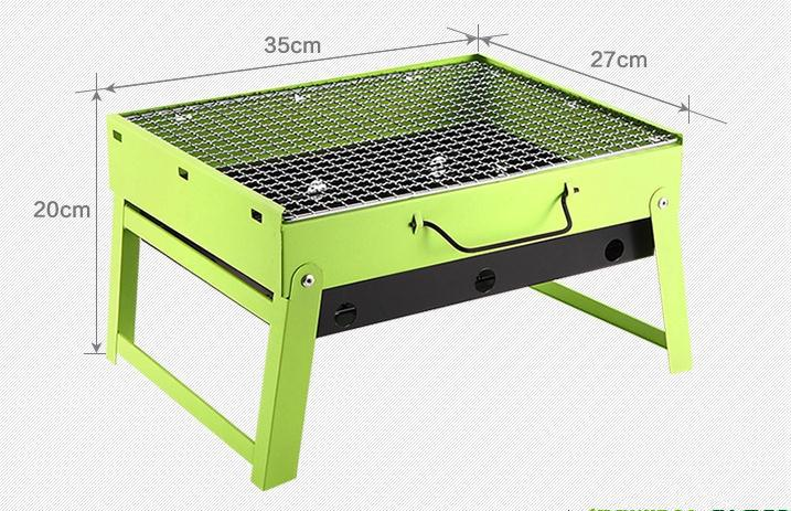 Hot selling smokeless indoor barbecue grill large outdoor charcoal bbq grill with two wooden platforms