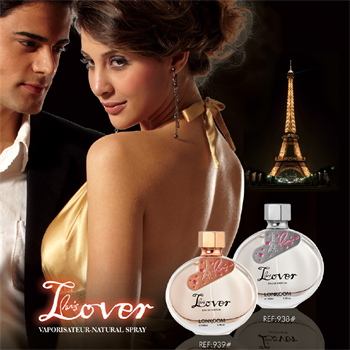 Beautiful Packing Paris Lover Elegant and Romantic OEM perfume for women 100 ml