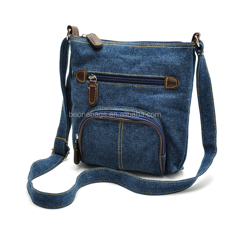 Women Denim Bag Messenger Jeans Danim Bag for Girls