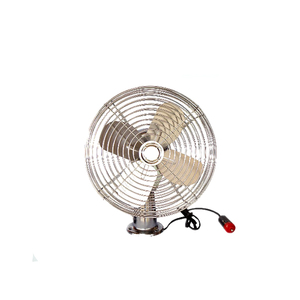 12v 24v 6inch dc Screw Mounting Metal Blade car Fan auto fan