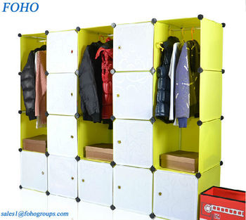 New Diy Assembled Plastic Bedroom Wardrobe Cabinets Garage Storage Units -  Buy Garage Storage Units,Plastic Clothes Wardrobe,Wardrobes And Tv Units ...