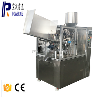 Auto aluminum pigment paint tube filling and sealing machine for aluminum tube sealer