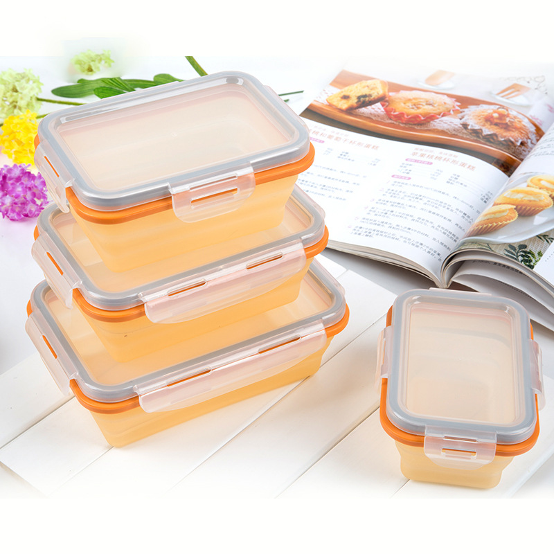 New hot products korea kitchen waterproof bento lunch box set stackable food container