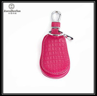 Fashion Cute Candy Women Zipper Around Car Key Holder Case Keychain Wallet