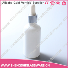 alibaba china 30ml glass dropper bottles white essential oil bottle ejuice bottle for e liquid flavor