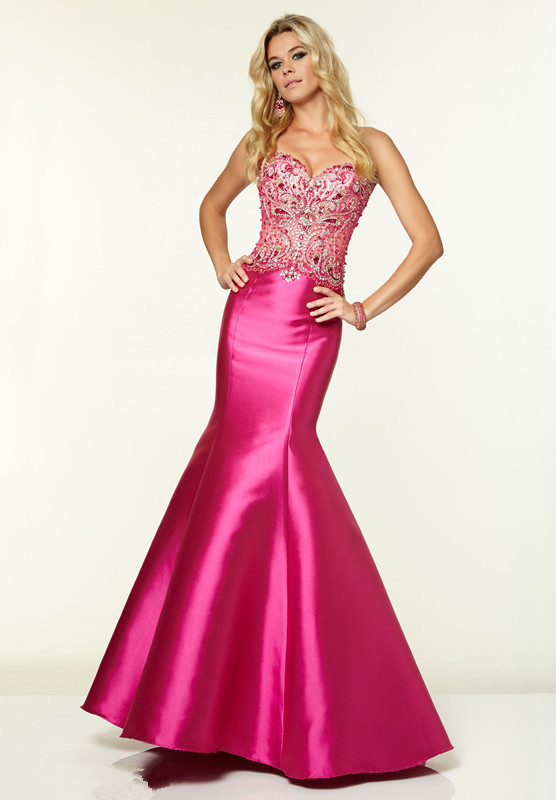 New Arrival Special Occasion Taffeta Beaded Mermaid Beaded Sexy Prom Dress Hot Sale Long Cheap Evening Gown For Women