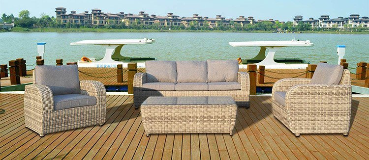 China imported 5 star hotel waterproof cast aluminum plastic rattan outdoor pool chairs sun lounger