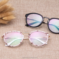 New Fashion plastic and Metal reading glasses frames computer optical eyewear frames classical goggles China Factory wholesale