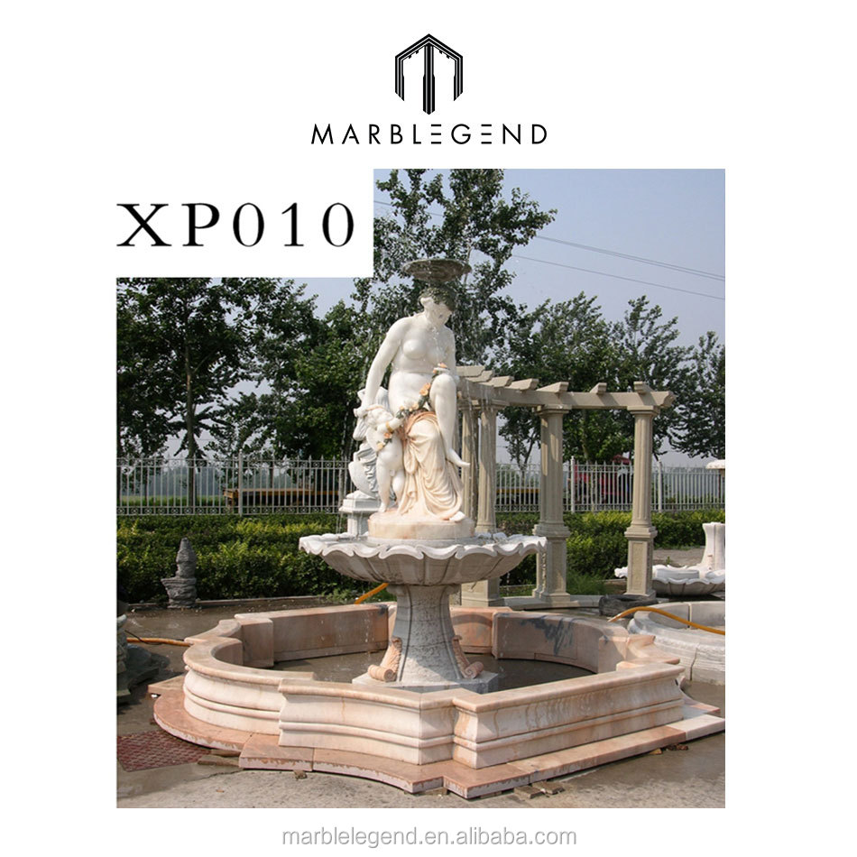 Nude figure design modern style hot sale natural stone fountain