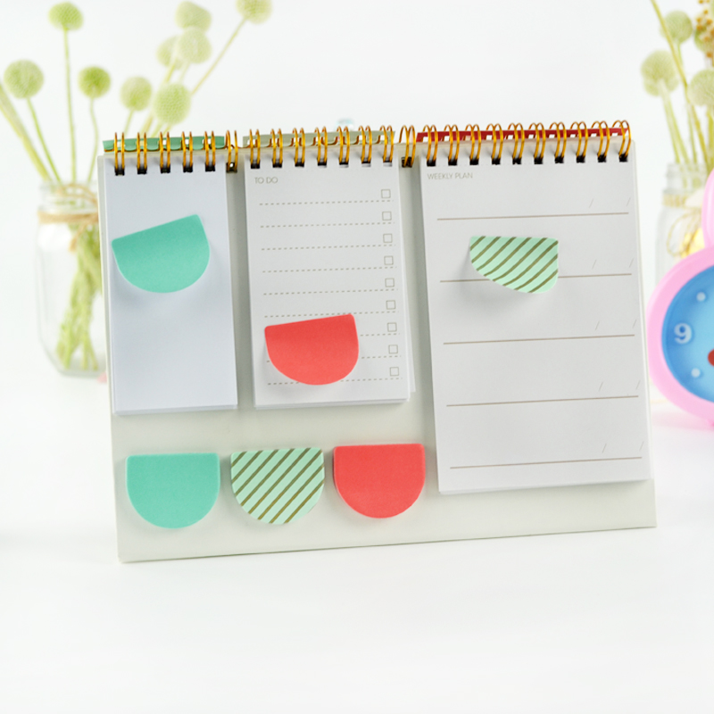 2019 New Year Calendar 2019 Fashion Simple Lovely Mini Table Calendars Vintage Kraft Paper Desk Calendar Office School Supply Skillful Manufacture Calendars, Planners & Cards