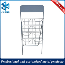 floor standing brochure leather display holders magazine racks for office&hotel&restaurant,newspaper display rack