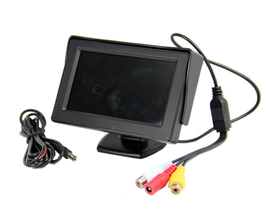 5 inch car full hd field small lcd monitor with 12v dc input