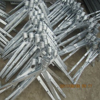 Galvanized Fence Barbed Wire Extension Arms Buy Barbed
