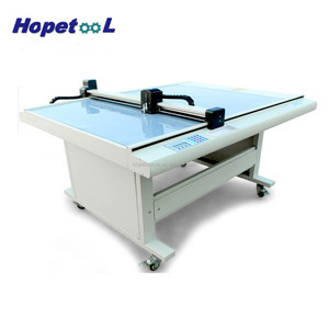 Fast speed accurate flatbed cutter plotter model cutting plotter