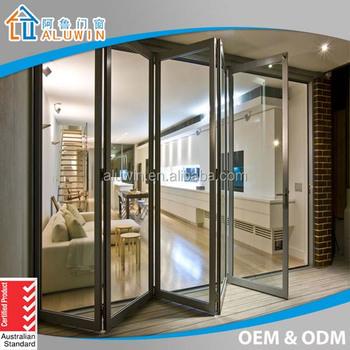 Double Glazed Aluminium Folding Patio Doors Buy Folding Patio
