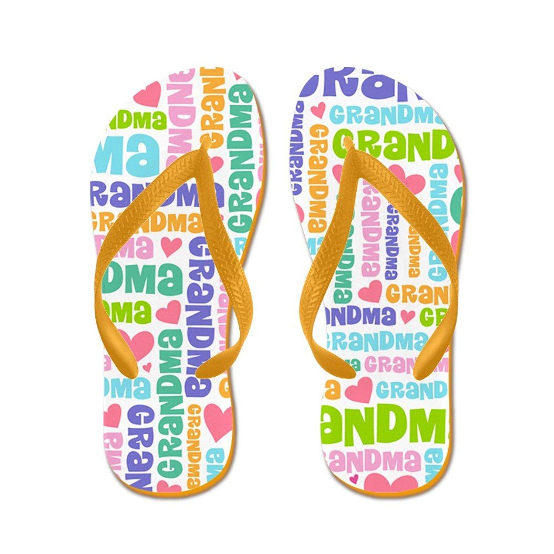 ee962c6b7 Get Quotations · CafePress Cute Gift For Grandma Flip Flops - Flip Flops