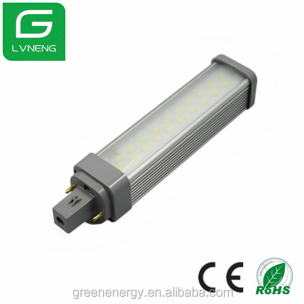 g24d 20ES high efficiency PLC led bulb light CE ROHS energy saving