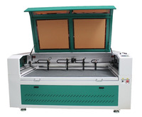 1610 large area double heads co2 laser engraving machine XM-1612 Laser cutting machine