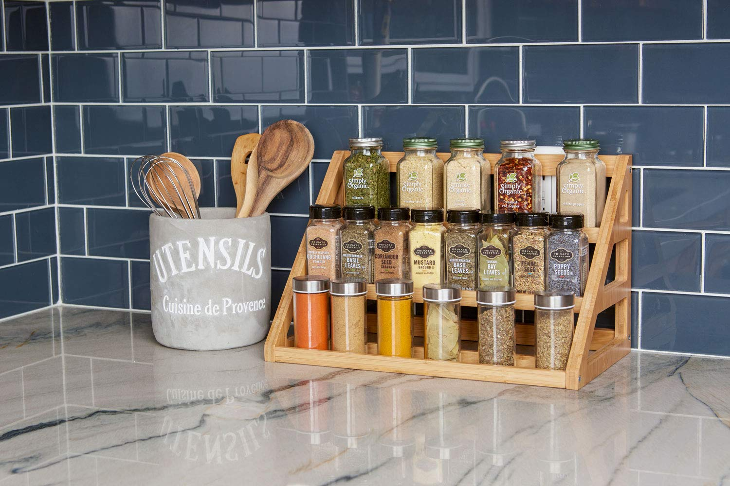 High Quality bamboo spice rack 3