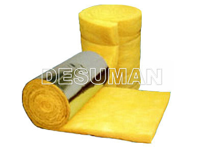 glass wool blanket double sided fiberglass insulation