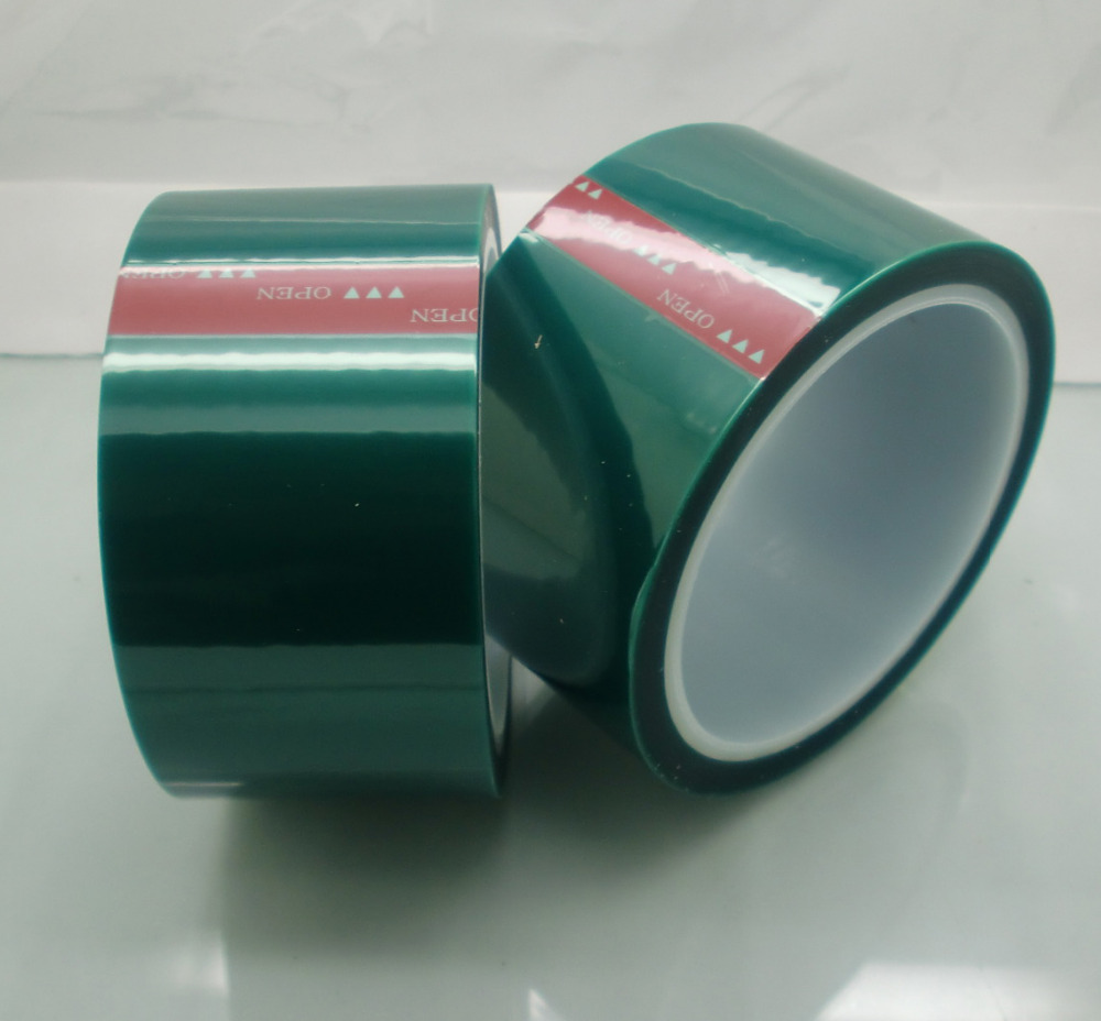 60micron Free <strong>sample</strong> 2.4mil Powder Coating Green masking Tapes 2inch 36yard