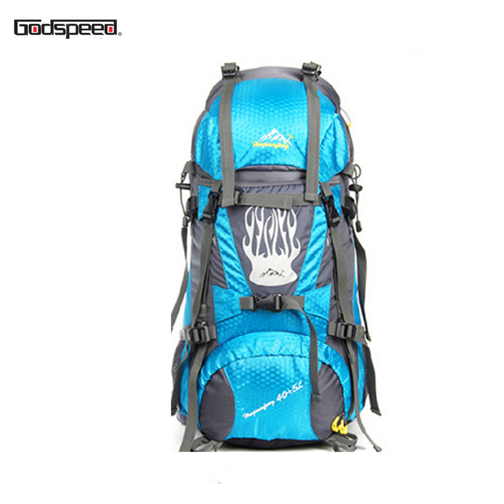 trekking bag 75l travel Sports trendy waterproof Backpack With Shoe Compartment