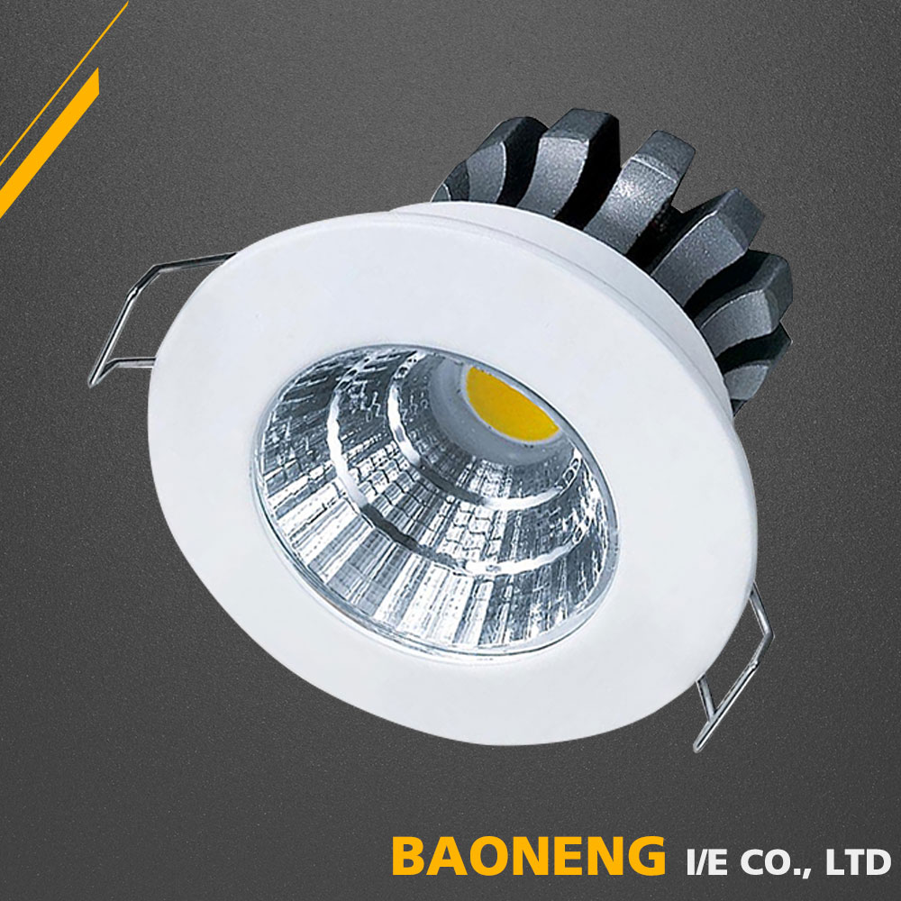 Natural White Ceiling 3W LED Light With Round Shape and CE RoHS SAA Apprpved