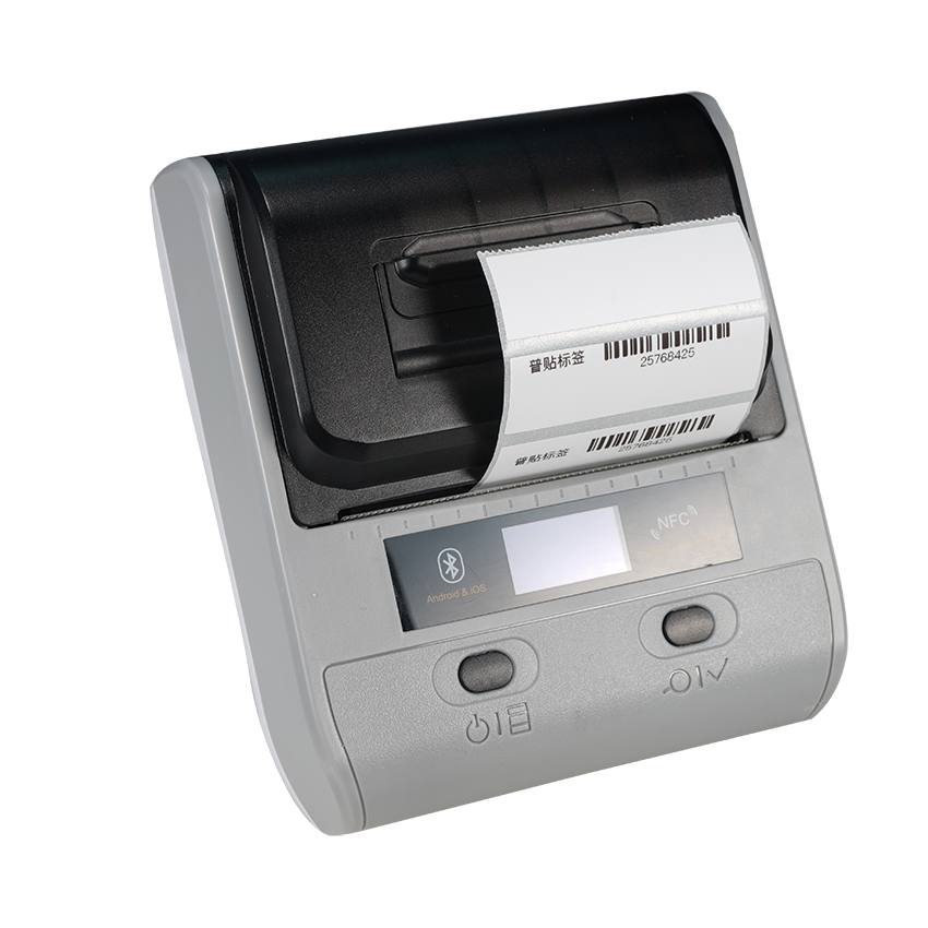 portable wireless thermal printer 80mm thermal wireless printer mini barcode wireless thermal printer