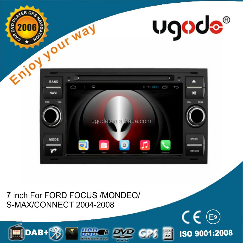 ugode android auto car radio with gps for ford focus car radio android system