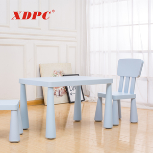 Kindergarten school furniture student canteen table and chair