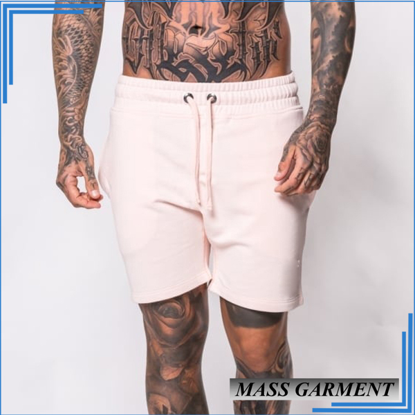 Wholesale Track Suit Men's Jogger Short Pants Custom Stone Color 100%cotton Pants