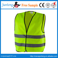 Manufactory supply Europe Market CE EN20471:2013 Motorcycle Reflective safety vest, PMS colour and Brand can be done customized